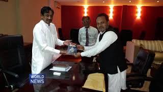 Sri Lanka Ahmadi Muslims meet Minister