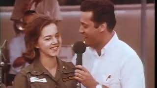 Jack Jones sings Wives and Lovers to an Army nurse