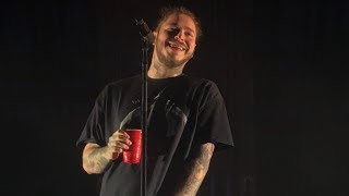 Post Malone Better Now Live Toronto Echo Beach 2018