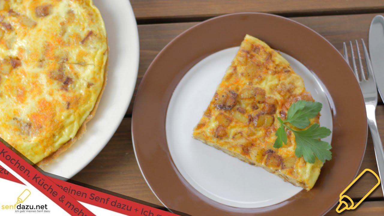 Kartoffel - Eierkuchen Rezept - Schnelle Alternative zu Bratkartoffeln -  Kartoffelkuchen - Tortilla