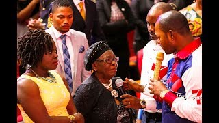 They came all the way from USA to receive their family Deliverance from Pastor Alph LUKAU