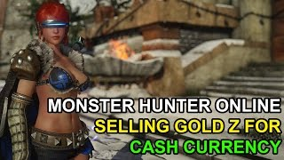 Monster Hunter Online Guide Gold Z to Free Cash Points