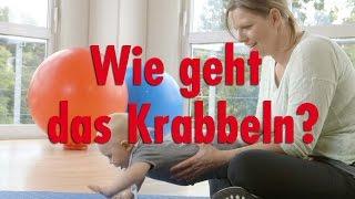 fitdankbaby®-Experten: Wie geht Krabbeln?