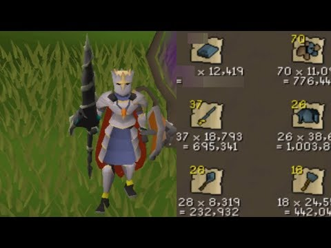 Dragon Hunter Lancing Rune Dragons For 10hrs IS BANK