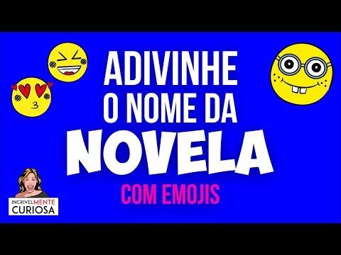 ADIVINHE O NOME DA NOVELA COM EMOJIS