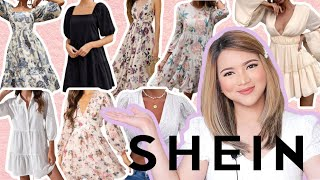SHEIN TRY ON HAUL! Affordable Puffy Sleeves & Floral Dresses | Philippines screenshot 2