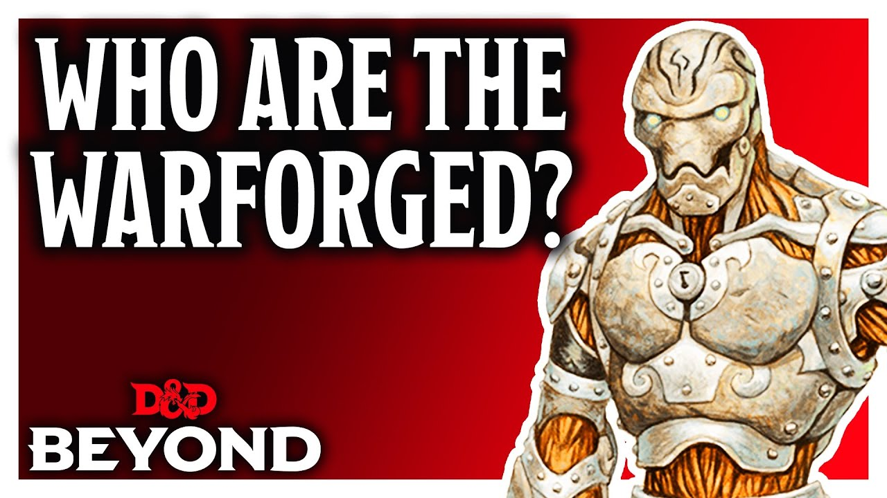 D&D: So You Want To Play A Warforged - Here's How - Bell of