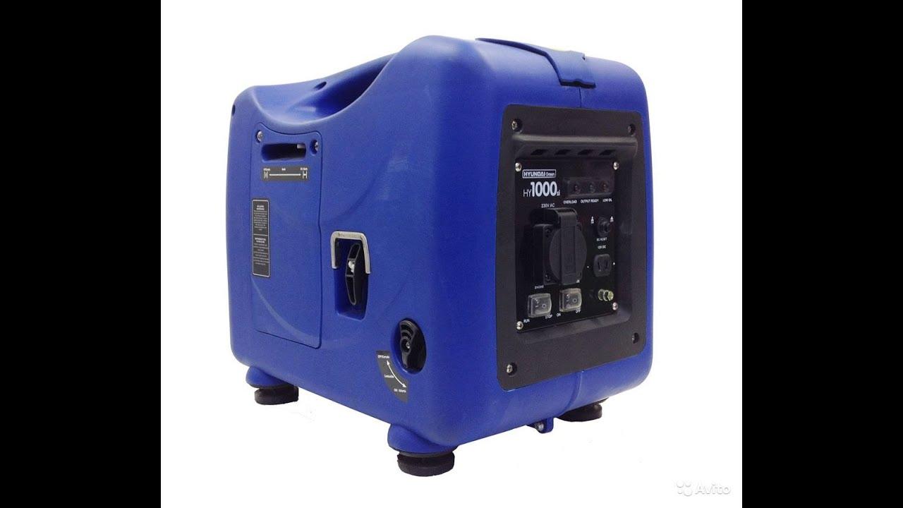 бензогенератор hyundai 3000si официальный дилер