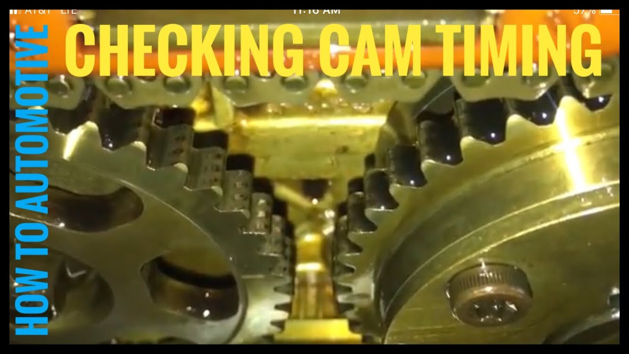 how to check cam timing on a 2004 honda cr v 2 4 l engine [ 1280 x 720 Pixel ]
