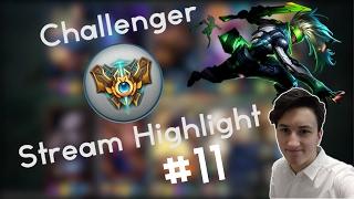 Ekko Edit Gameplay  Challenger Stream Highlight 11