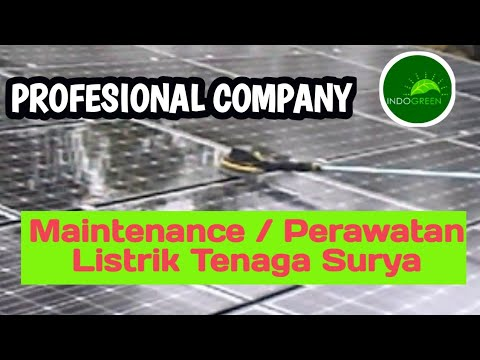 MAINTENANCE 36 kWp OnGrid Solar Power Plant (PT. INDOGREEN TECHNOLOGY AND MANAGEMENT)