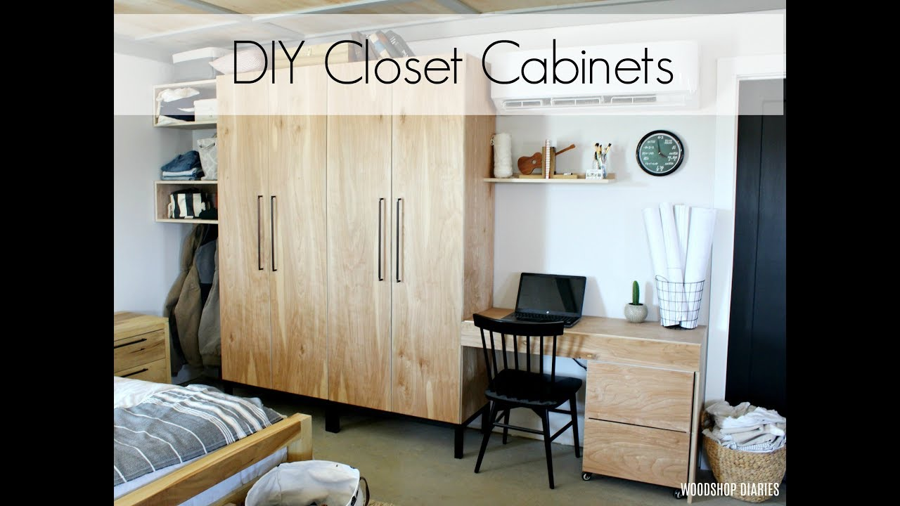 How To Build Your Own Closet Cabinets