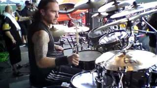 "Jason Bittner and Shadows Fall ""Still I Rise"" Hartford MAYHEM 7/24"