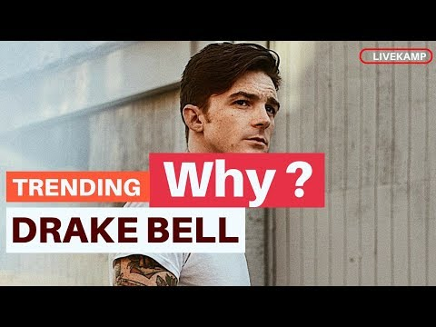 Why Is Drake Bell Trending? Drake Bell is Tainting Our Childhood  One Nude at a Time!