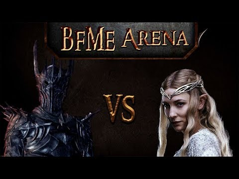 BFME Arena Boromir & Aragorn Vs Ugluk & Lurtz