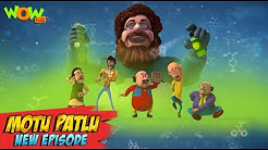 Motu Patlu New Episodes 2021 The Chemical Reaction Funny Stories