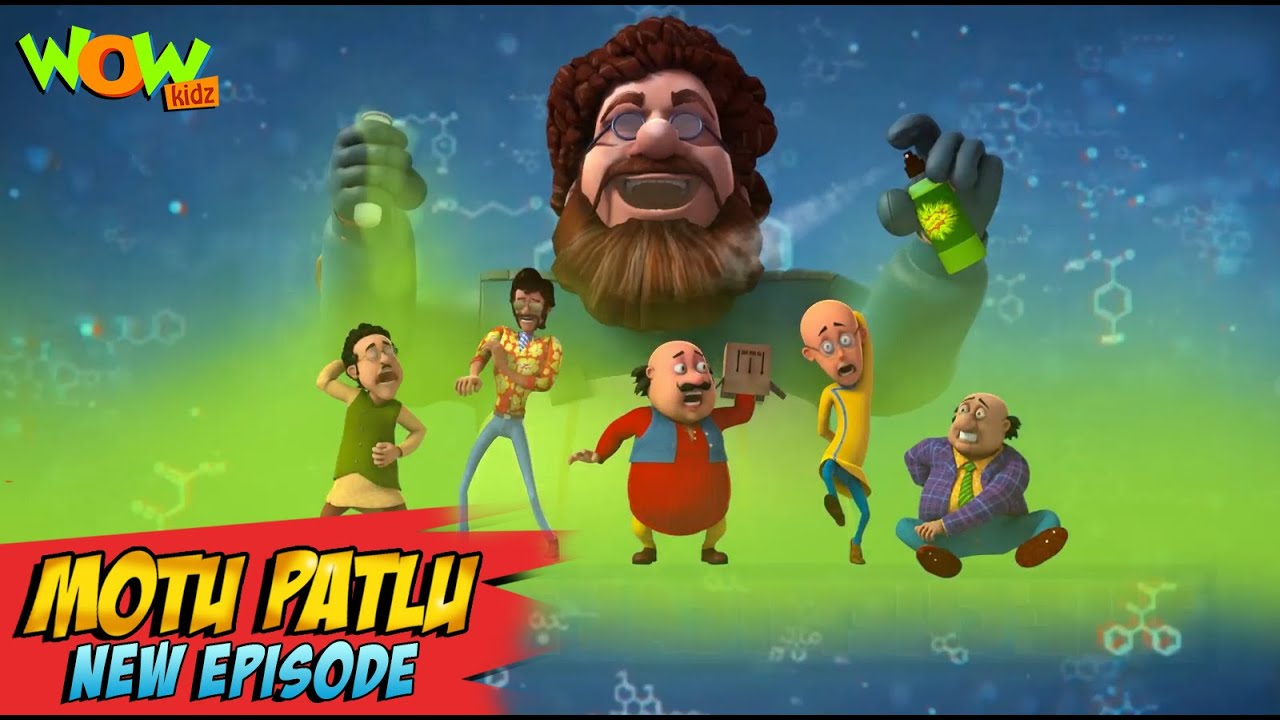 Download Motu Patlu New Episodes 2021 | The Chemical Reaction | Funny Stories | Wow Kidz