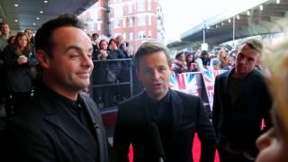 Ant & Dec on the Britain's Got Talent Red Carpet Thumbnail