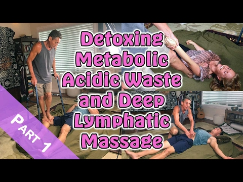 Detoxing Metabolic Acidic Waste and Deep Lymphatic Massage Part 1 | Lecture | Dr. Robert Cassar