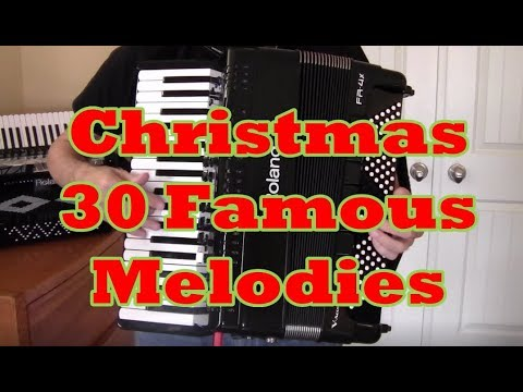 Christmas Accordion, All Music-No Talk, 60 Minutes