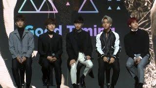 B1A4 'A lie'(거짓말이야) Q&A Showcase (비원에이포, 진영, 신우,…