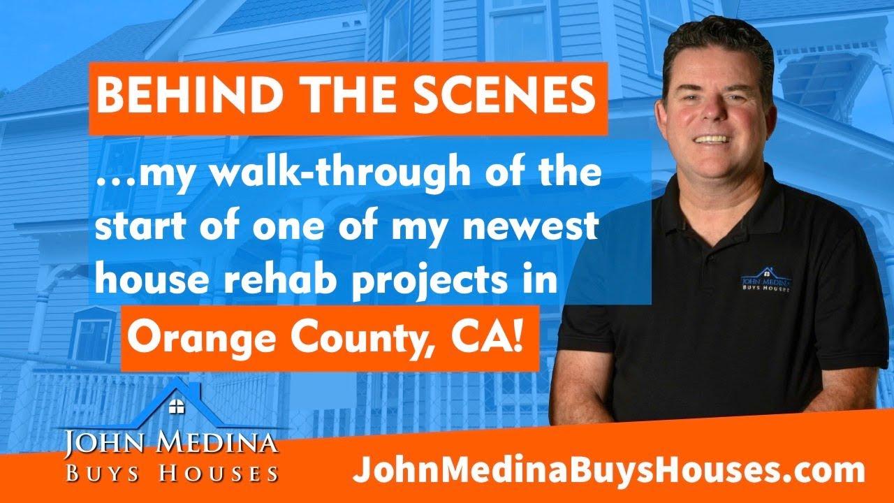 Part 2 - John Medina Buys Houses in Garden Grove, California - John Medina House Flip Project Tour!