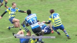 Yvelines | Rugby : Versailles prend une option sur la montée