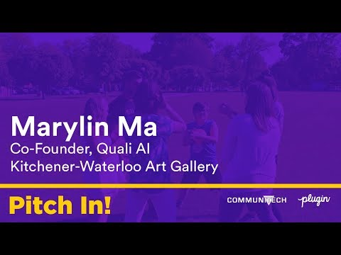 Marylin Ma for Kitchener Waterloo Art Gallery - Pitch In!