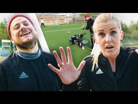Olivia Schough VS Fotbollskanonen |Adrian Testar