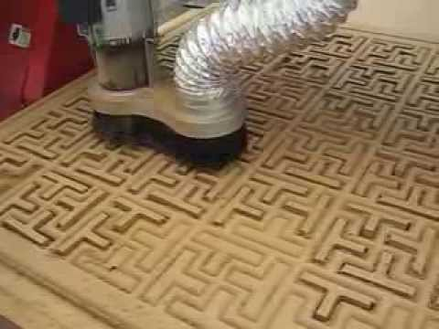 Cnc Router With Vacuum Table Machine Youtube