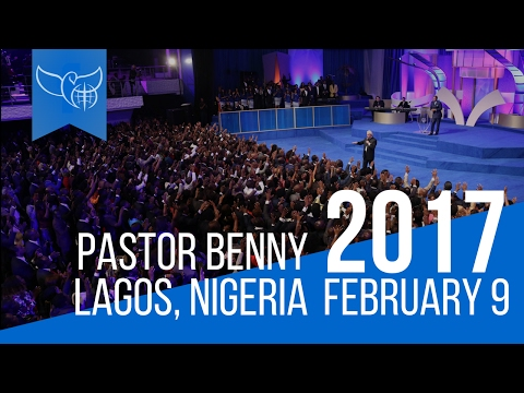 Benny Hinn LIVE in Lagos, Nigeria, February 9th, 2017