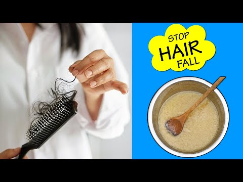 How to stop HAIR FALL Naturally? - Hair Loss Control Tips for 2019 - 동영상