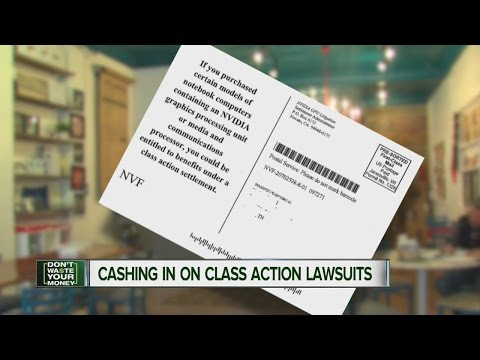 Class action lawsuits could mean free money