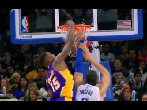 Thomas Robinson Unintentional Alley Oop over Vucevic in Orlando | 12.23.16