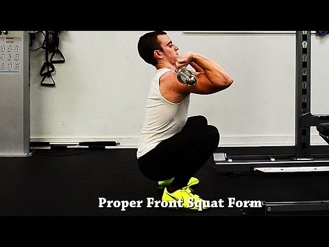 How To Front Squat With Proper Form