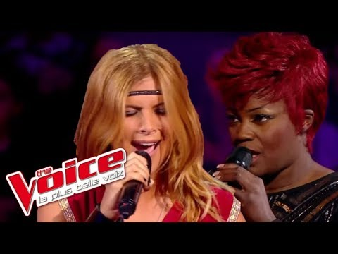 The Voice 2014│Stacey King VS Aline Lahoud - Sober (Pink)│Battle
