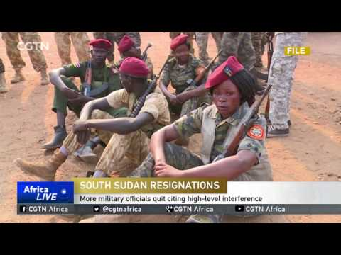 More South Sudan military officials quit citing high-level interference