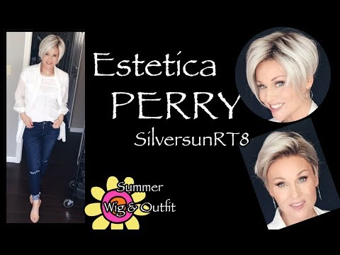 Estetica PERRY Wig Review | SILVERSUNRT8  | SUMMER INSPIRED | WIG & OUTFIT!