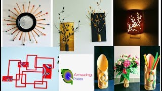 5 wall decor ideas / craft / art and craft / craft ideas / video / amazing pixies