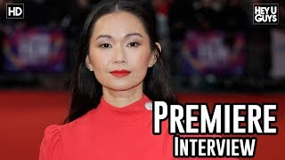 Hong Chau | Downsizing Premiere Interview | London Film Festival 2017