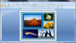 Microsoft Word Tutorial |How to insert images into word document (2)