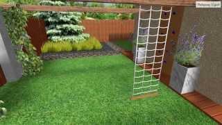 projekt koncepcyjny ogrodu w Ząbkach