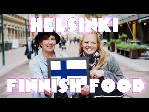 Americans Try Finnish FOoD! 🇫🇮 - Helsinki Finnish Food Tasti