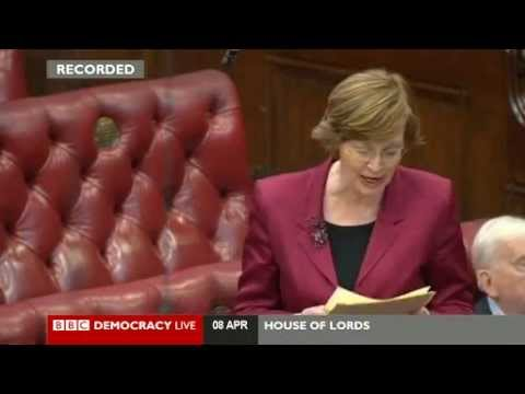 House of Lords - Pensions compromise agreed by peers - 8 April 2014