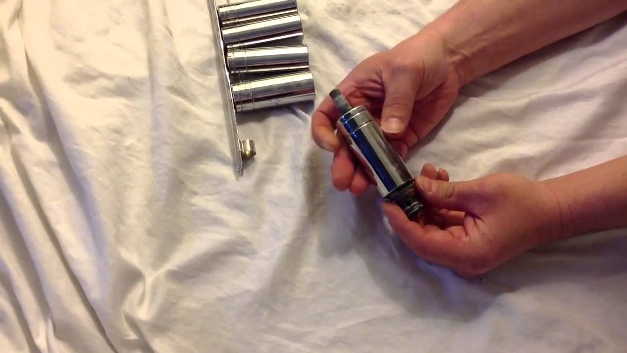 Bathroom faucet stem removal tool - YouTube