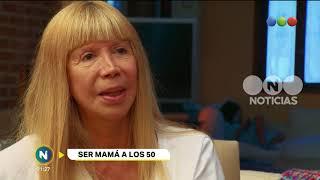 Ser mamá a los 50 - Telefe Noticias