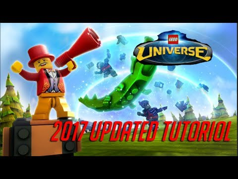 How To Play Lego Universe in 2017!! Luni Server Updated Tutorial