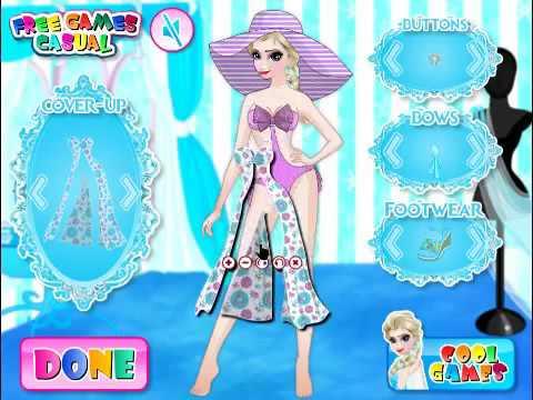 694cca3a3b Frozen Elsa Swimwear Design - Disney Frozen Games - Dress Up Games ...