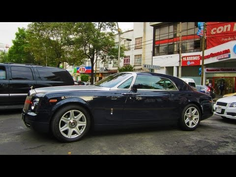 Rolls Royce Phantom Coupe - México DF