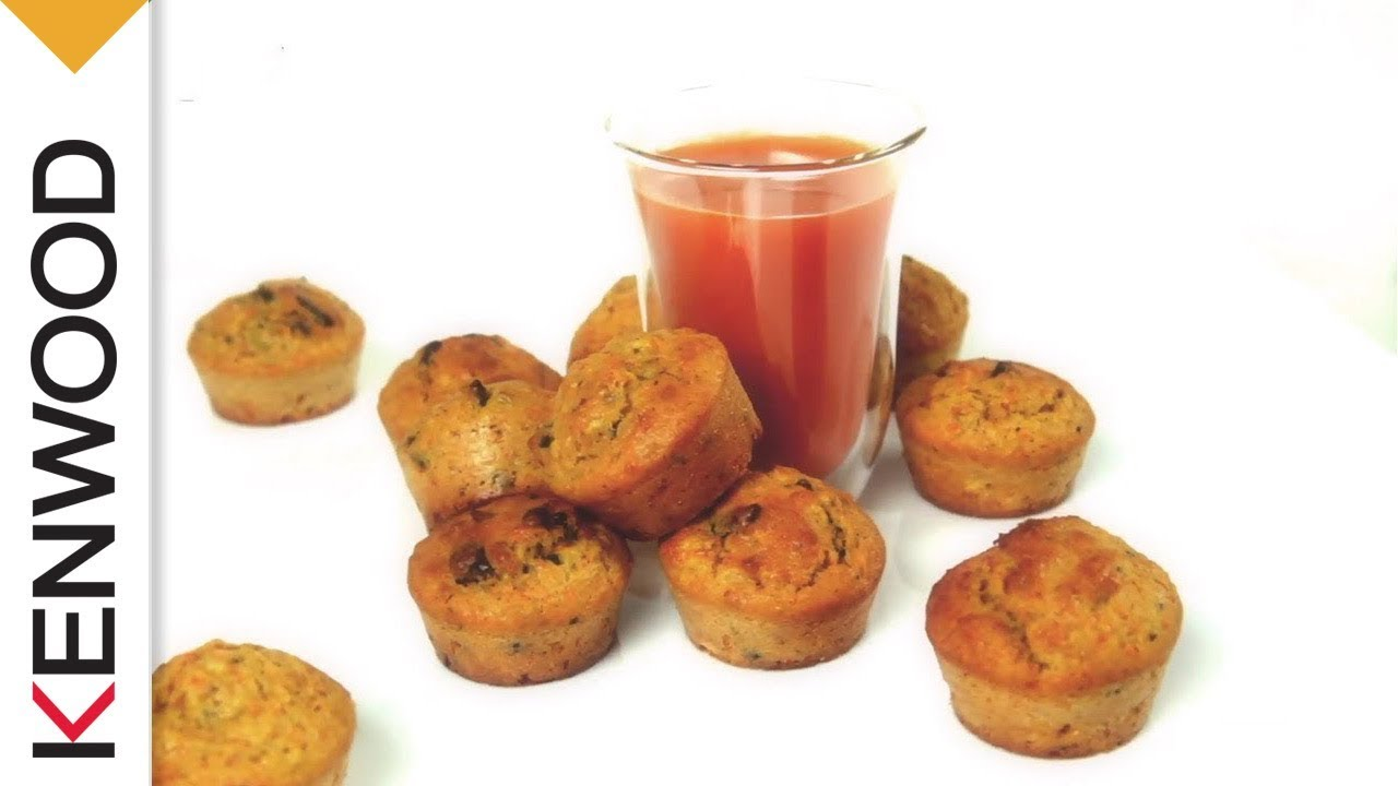 recette de jus detox et muffins avec l extracteur de jus purejuice pro de kenwood youtube. Black Bedroom Furniture Sets. Home Design Ideas